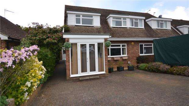 4 Bedrooms Semi Detached House for sale in Brooklands Close, Farnham, Surrey