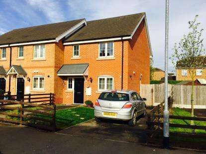 3 Bedrooms Semi Detached House for sale in Michael Moses Way, Swineshead, Boston, Lincs