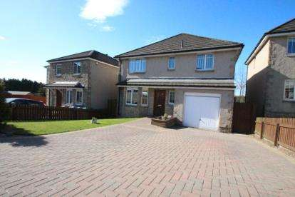 4 Bedrooms Detached House for sale in Leven Valley Gardens, Markinch