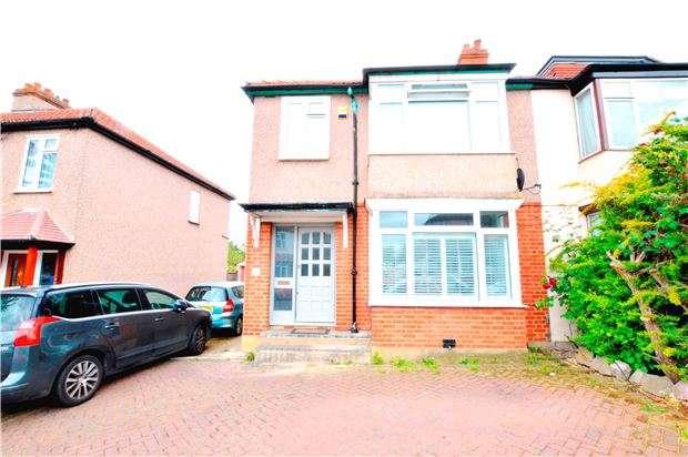 3 Bedrooms Semi Detached House for sale in Lavender Avenue, WORCESTER PARK, Surrey, KT4 8RR