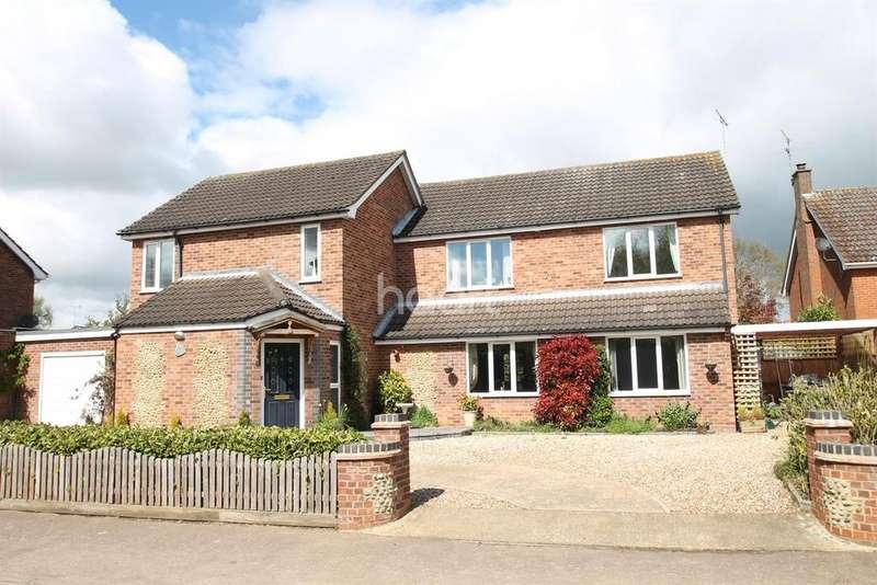 5 Bedrooms Detached House for sale in Brick Kiln Road, Hevingham