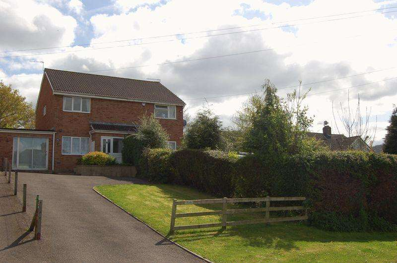 3 Bedrooms Semi Detached House for sale in Wyesham Avenue, Monmouth