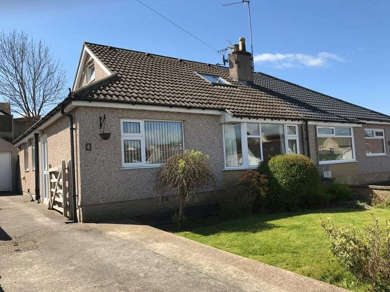 3 Bedrooms Semi Detached Bungalow for sale in Monkswell Avenue, Carnforth