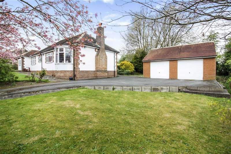 3 Bedrooms Detached Bungalow for sale in Gernhill Avenue, Fixby, Huddersfield