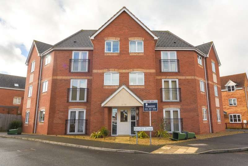 2 Bedrooms Flat for sale in Spinney close, Leicester, Leicestershire, LE3