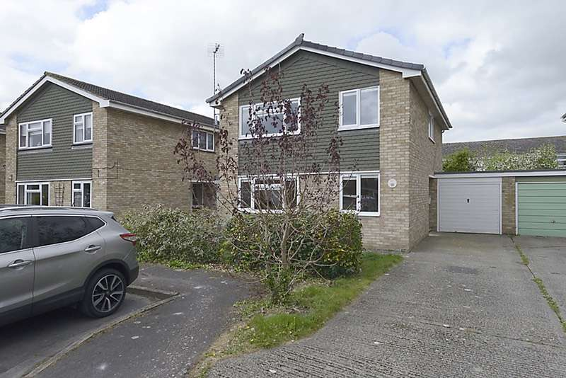 4 Bedrooms Detached House for sale in Barbury Drive, Wantage, Oxfordshire, OX12