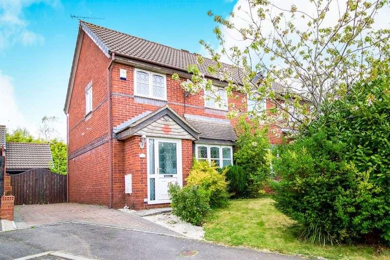3 Bedrooms Semi Detached House for sale in Rushfield Gardens, Bridgend