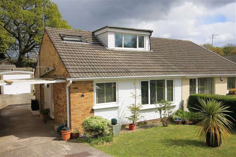 2 Bedrooms Semi Detached Bungalow for sale in Underhill Drive, Tonteg, RCT