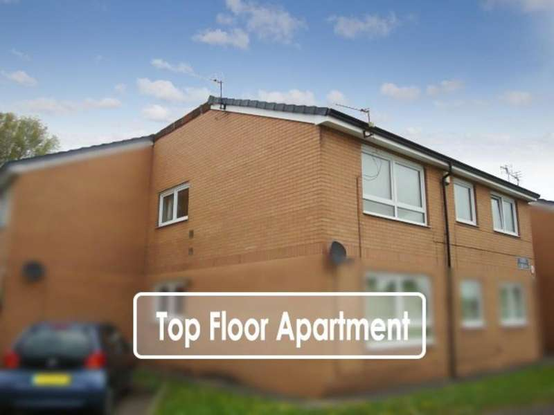 2 Bedrooms Apartment Flat for sale in St. Martins Close, Featherstone