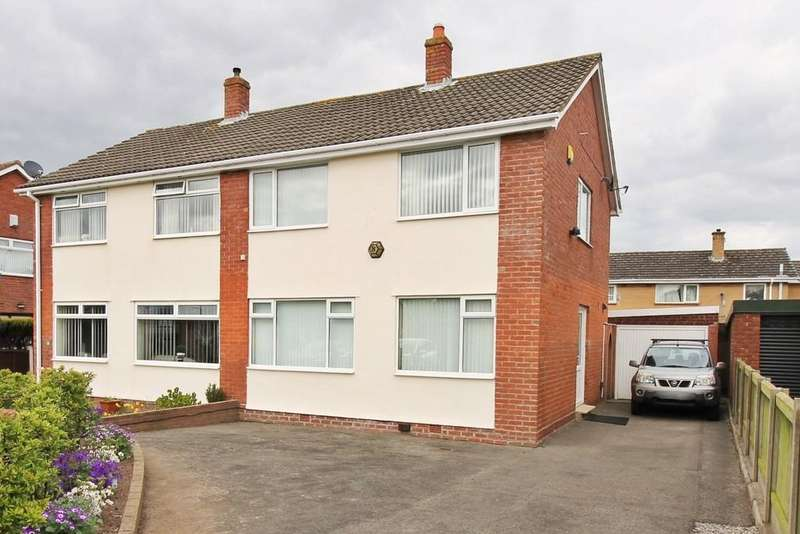 3 Bedrooms Semi Detached House for sale in Holmrook Road, Carlisle
