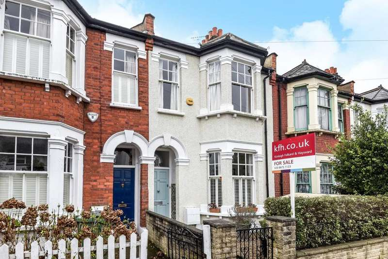 4 Bedrooms Terraced House for sale in Hydethorpe Road, Balham, SW12