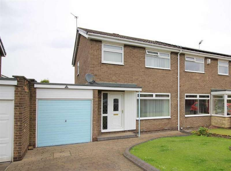 3 Bedrooms Semi Detached House for sale in Melness Road, Hazlerigg, Newcastle Upon Tyne