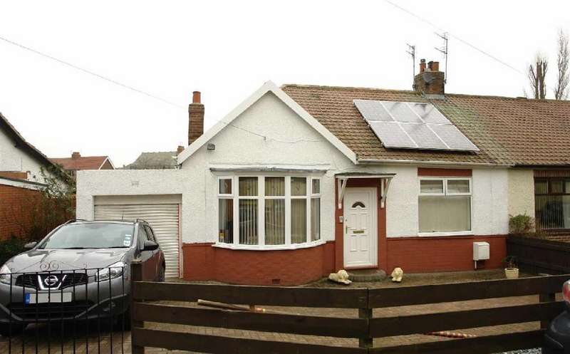 2 Bedrooms Semi Detached Bungalow for sale in Northcroft, Newcastle Upon Tyne