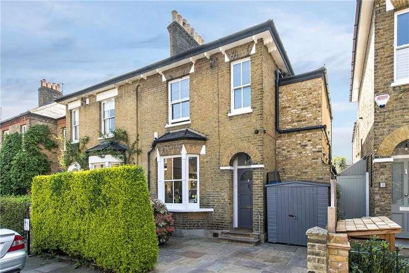 4 Bedrooms End Of Terrace House for sale in Ellison Road, London, SW13