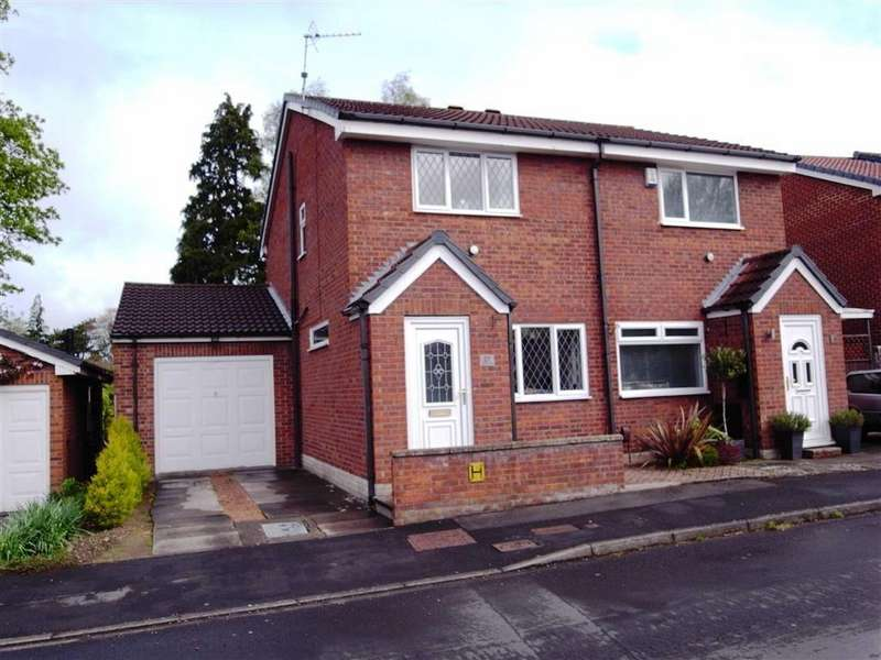 2 Bedrooms Semi Detached House for sale in Osborne Close, Darlington