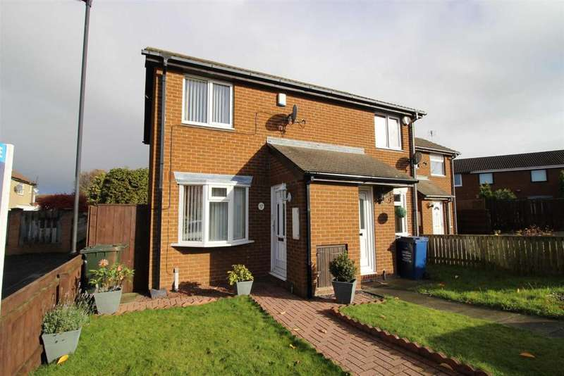 2 Bedrooms End Of Terrace House for sale in Meadow Rise, Newcastle Upon Tyne