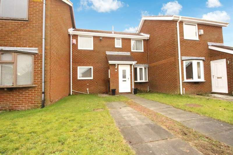 2 Bedrooms Terraced House for sale in Dereham Court, Newcastle Upon Tyne