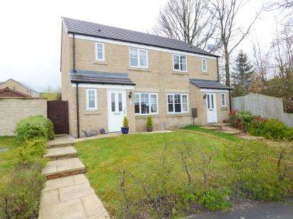 3 Bedrooms Semi Detached House for sale in Beech View Drive, Harpur Hill, Buxton, Derbyshire