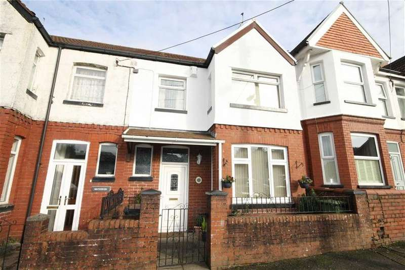 3 Bedrooms Terraced House for sale in Princes Avenue, Caerphilly, CF83
