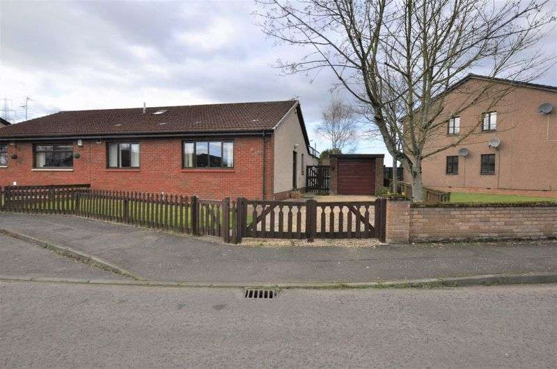 3 Bedrooms Semi Detached Bungalow for sale in Riverside View, Alloa