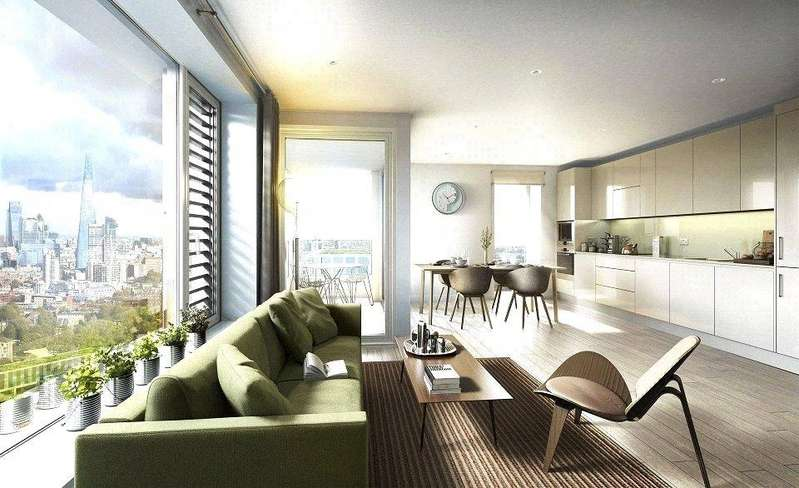 2 Bedrooms Flat for sale in Elephant Park, Elephant Castle, London, SE1