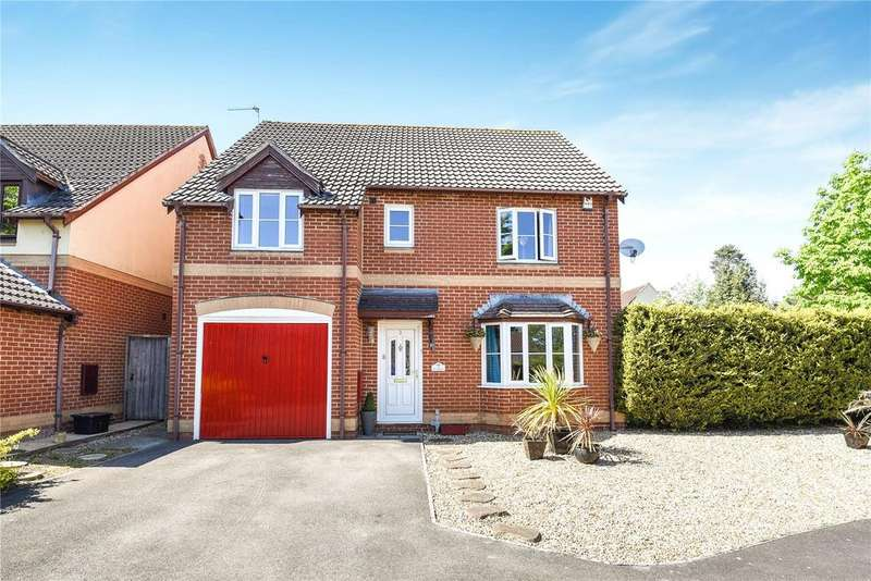 4 Bedrooms Detached House for sale in Bythebrook, Chippenham, Wiltshire