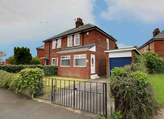 2 Bedrooms Semi Detached House for sale in Finchley Crescent, Newcastle, Tyne And Wear, NE6 4YJ