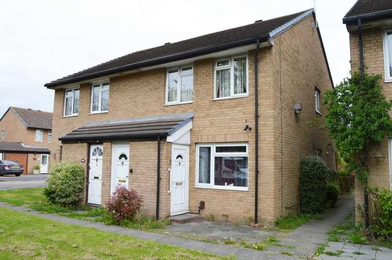1 Bedroom Maisonette Flat for sale in Whitelands Way, Harold Wood