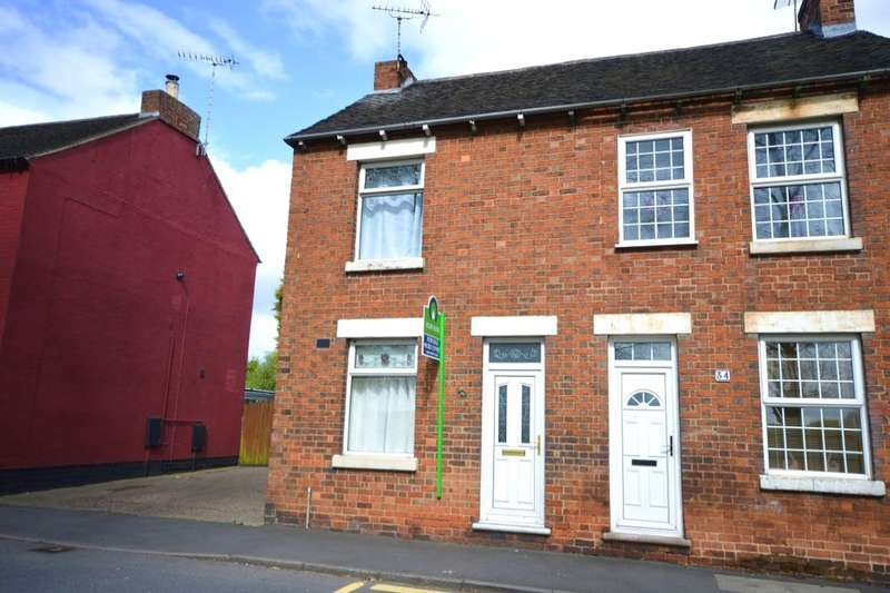 3 Bedrooms Semi Detached House for sale in Main Street, Newhall, Swadlincote, DE11