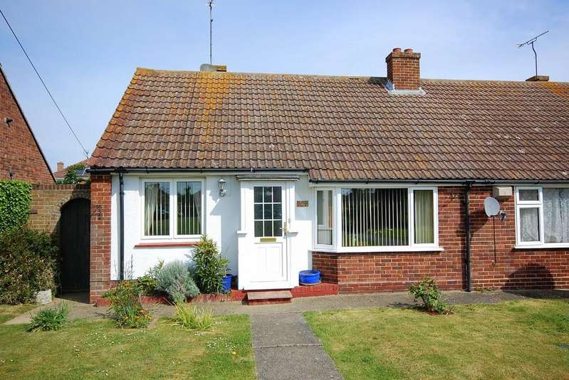 2 Bedrooms Semi Detached Bungalow for sale in Margate Road, Herne Bay