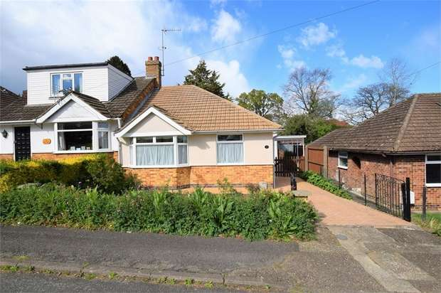 2 Bedrooms Semi Detached Bungalow for sale in Burford Avenue, NORTHAMPTON