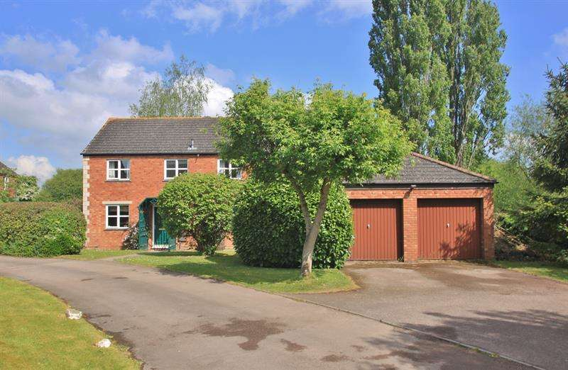 4 Bedrooms Detached House for sale in Parsons Croft, Hildersley, Ross-On-Wye