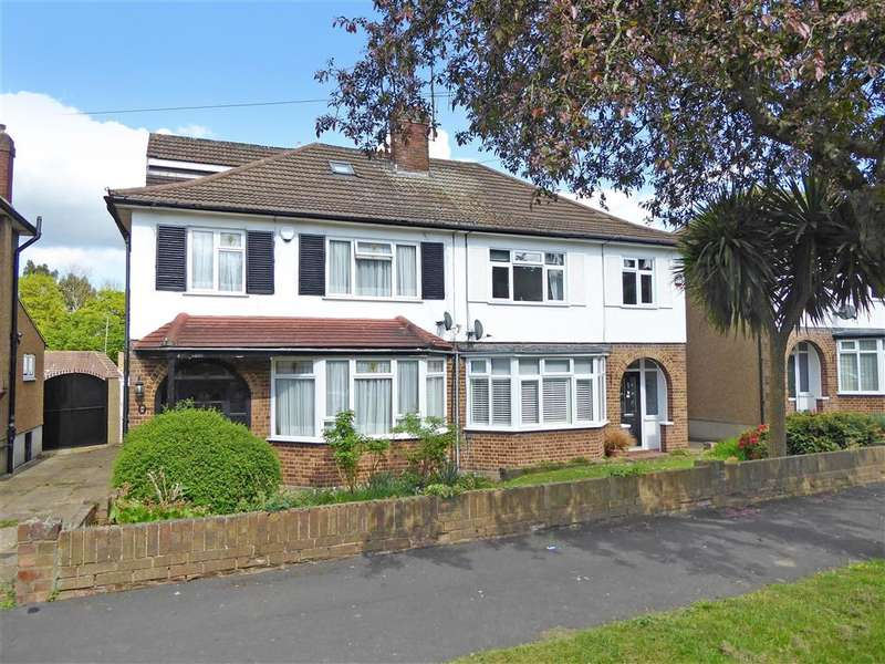 4 Bedrooms Semi Detached House for sale in Roundmead Avenue, Loughton, Essex
