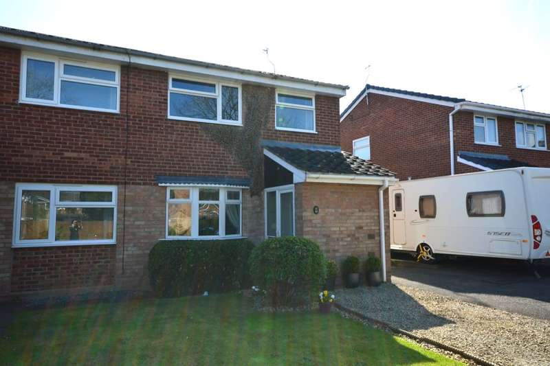 3 Bedrooms Semi Detached House for sale in Meon Grove, Perton, Wolverhampton, WV6