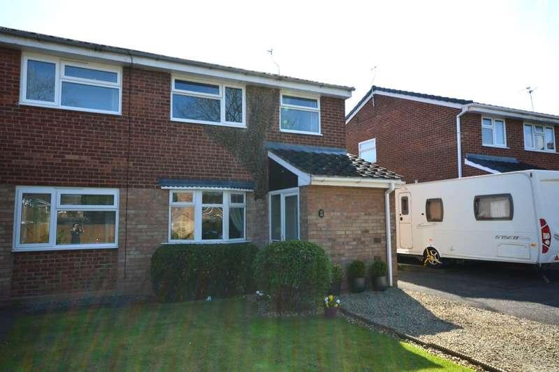 3 Bedrooms Semi Detached House for sale in Meon Grove, Perton, Wolverhampton, WV6