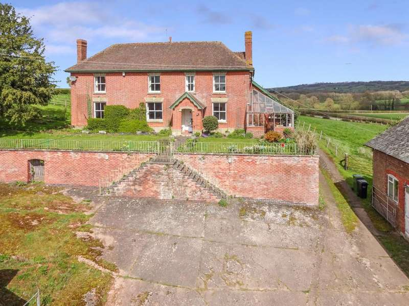 5 Bedrooms Farm House Character Property for sale in Collington, Bromyard, Herefordshire, HR7 4NB