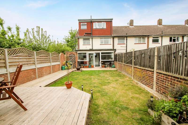 3 Bedrooms End Of Terrace House for sale in Littleton Road, Ashford, TW15