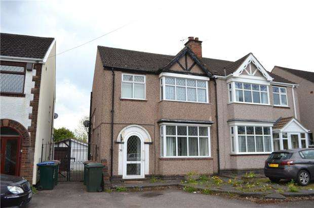 3 Bedrooms Semi Detached House for sale in Ansty Road, Stoke, Coventry, West Midlands