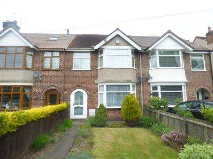 3 Bedrooms Terraced House for sale in Binley Road, Binley, Coventry, West Midlands