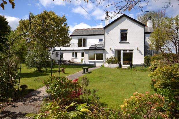 3 Bedrooms Detached House for sale in Nr Calstock, Cornwall