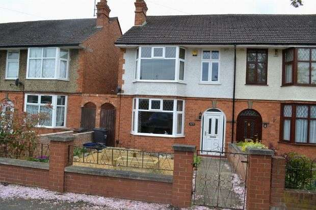 3 Bedrooms Semi Detached House for sale in Park Avenue North, Abington, Northampton NN3 2HY