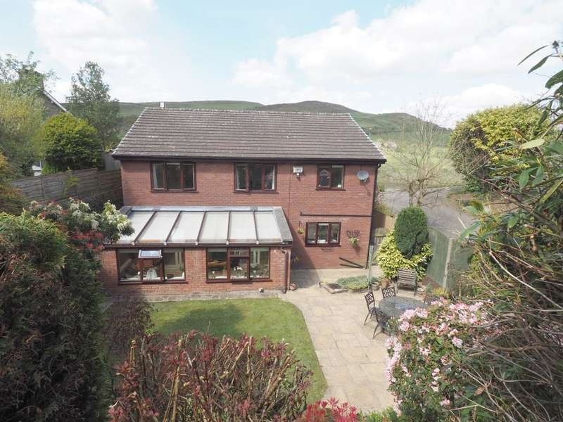 5 Bedrooms Detached House for sale in New Mills Road, Birch Vale, High Peak, Derbyshire, SK22 1BT