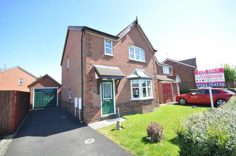 3 Bedrooms Detached House for sale in Tretower Way, Thornton Cleveleys, Lancashire, FY5 4FB