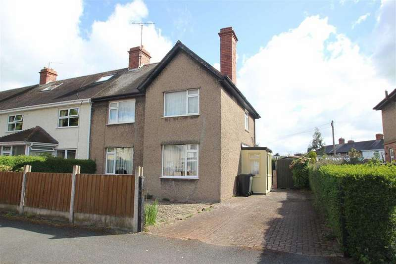 3 Bedrooms End Of Terrace House for sale in St Guthlac Street, Hereford
