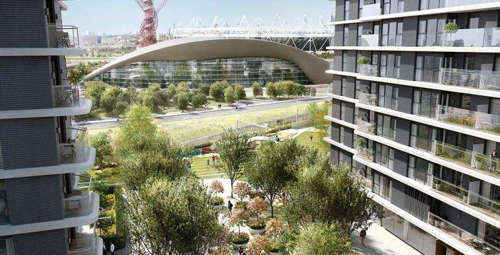 2 Bedrooms Flat for sale in Glasshouse Gardens, Cassia Point
