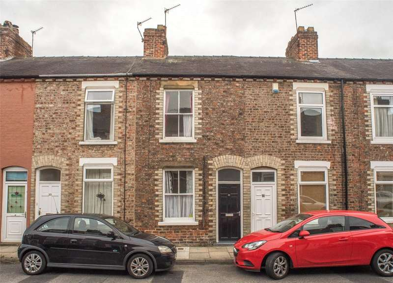 2 Bedrooms Terraced House for sale in Upper Newborough Street, York, YO30