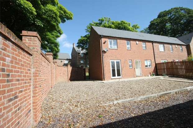 3 Bedrooms End Of Terrace House for sale in Old Dryburn Way, Nr Hospital, Durham City