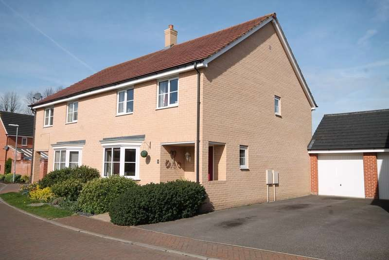 4 Bedrooms Semi Detached House for sale in Orchard Close, Isleham, CB7 5WY