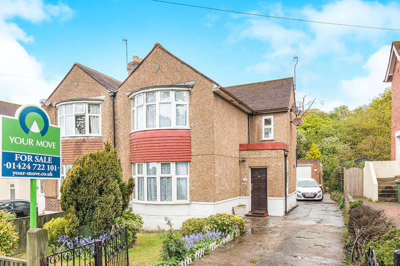 2 Bedrooms Semi Detached House for sale in Hoads Wood Road, Hastings, TN34