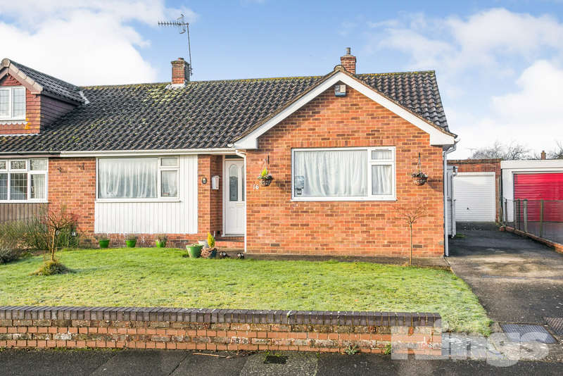 2 Bedrooms Semi Detached Bungalow for sale in Cornfield Way, Tonbridge